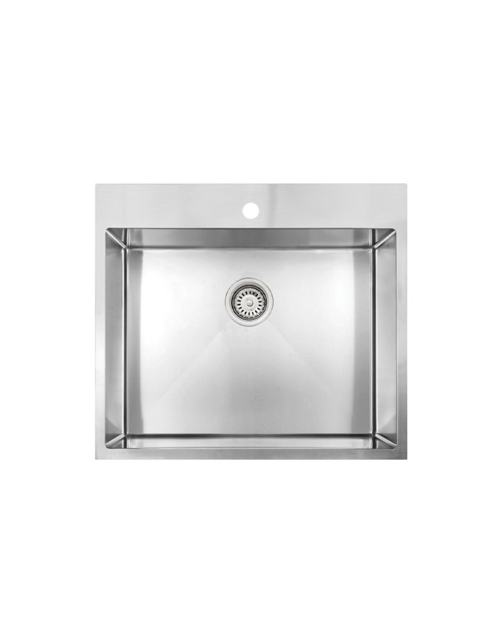 "Vogt Vogt Lainzer 18R Drop-In Laundry Sink 24"" x 22"" x 12"""
