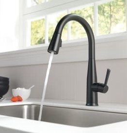 Delta DELTA ESSA KITCHEN FAUCET w TOUCH MATTE BLACK