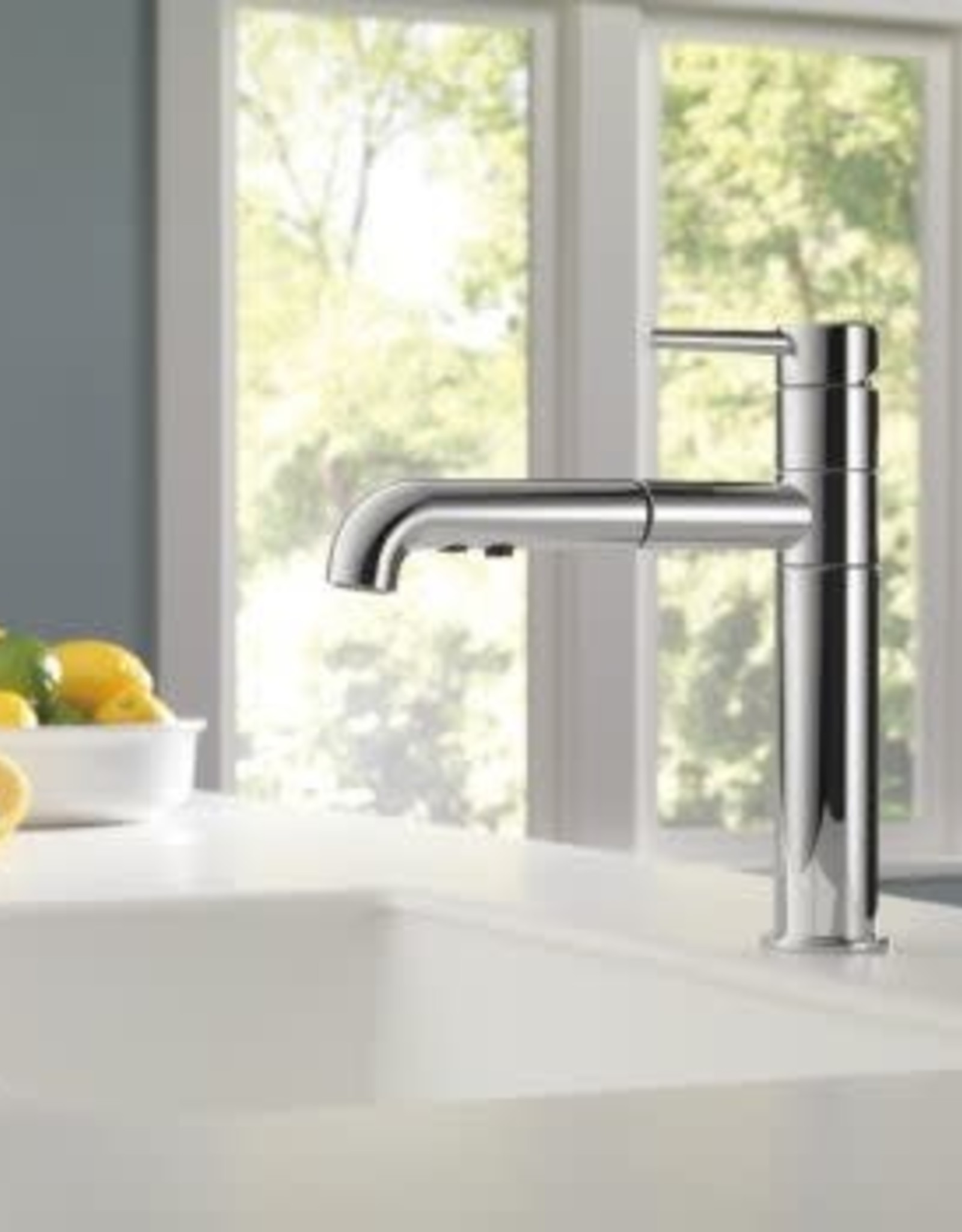 Delta DELTA TRINSIC PULL OUT KITCHEN FAUCET CHROME
