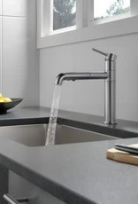 Delta DELTA TRINSIC PULL OUT KITCHEN FAUCET STAINLESS