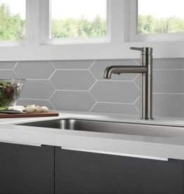 Delta DELTA TRINSIC PULL OUT KITCHEN FAUCET BLACK STAINLESS