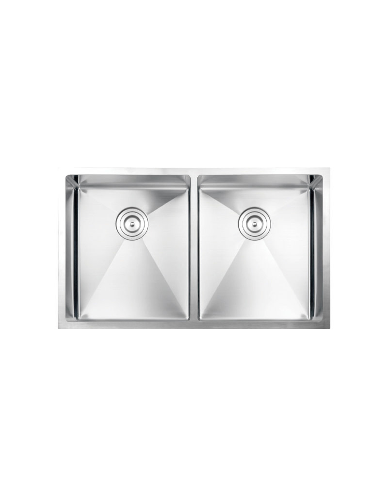 "Vogt Vogt Bludenz 16R Undermount Kitchen Sink Double Bowl (50/50) 32"" x 18"" x 10"""