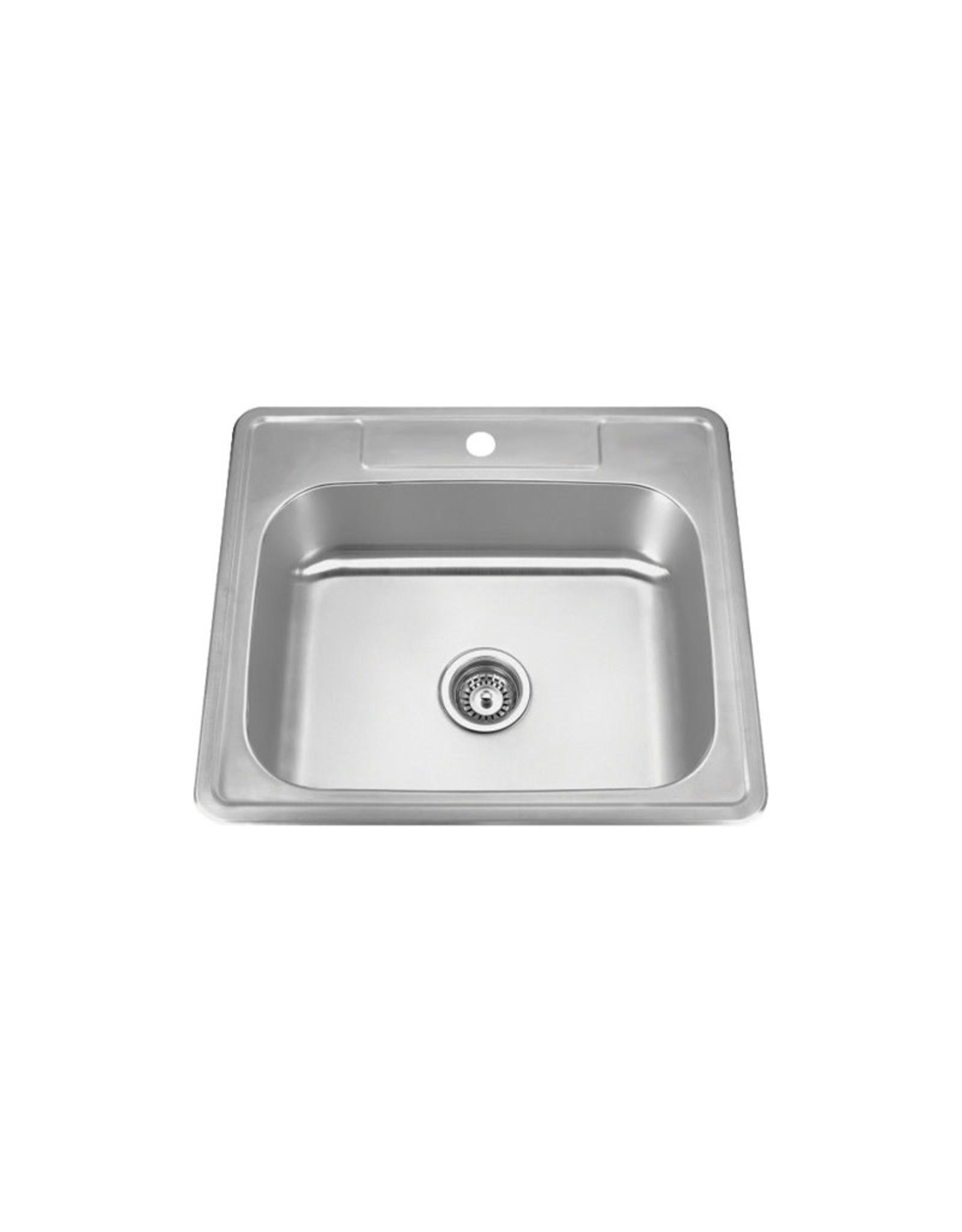 """Vogt Breitach Drop-In Kitchen Sink - 25"""" x 22"""" x 8"""""""