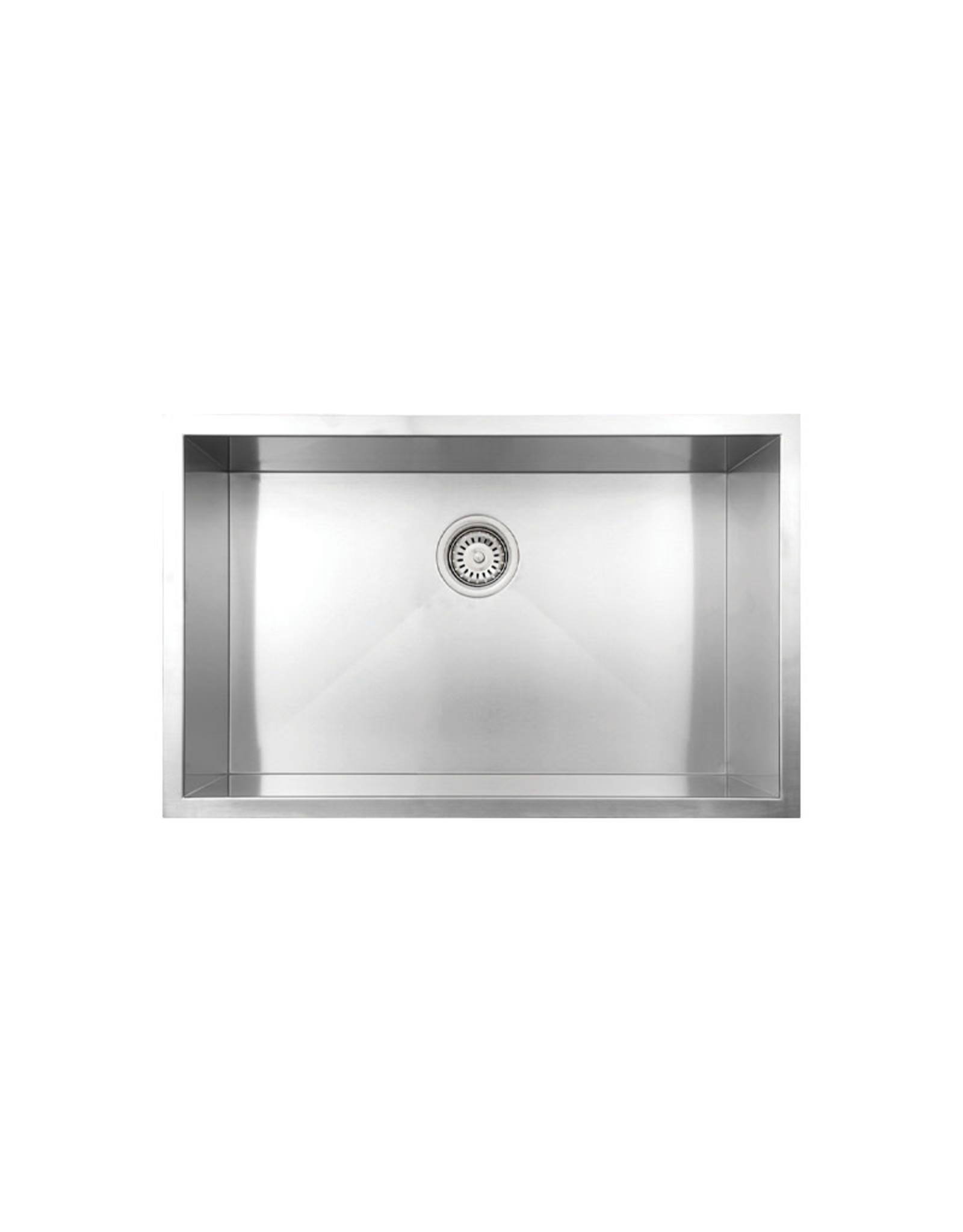"""Vogt Graz 18Z Undermount Kitchen Sink 30"""" x 18"""" x 10"""""""