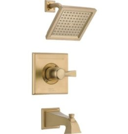 Delta DELTA DRYDEN - CHAMPAGNE BRONZE MONITOR 14 SERIES TUB  & SHOWER TRIM
