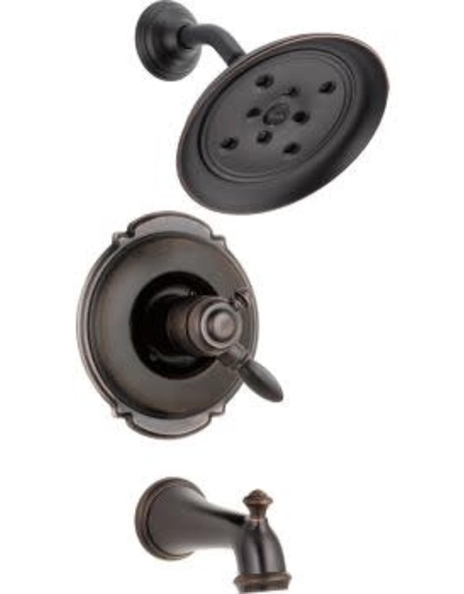 Delta DELTA VICTORIAN - VENETIAN BRONZE MONITOR 17 SERIES TUB & SHOWER TRIM
