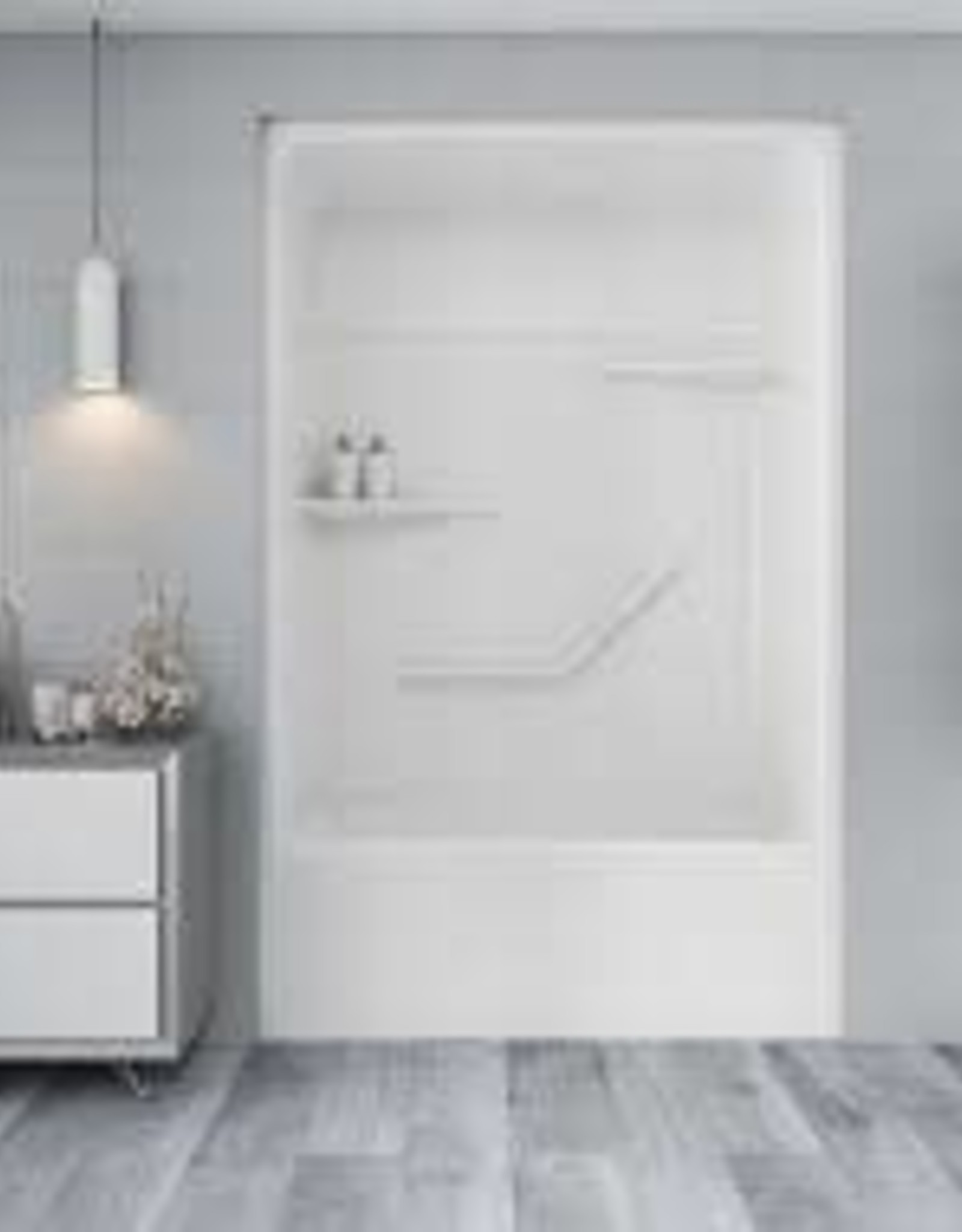 Mirolin Mirolin Tribeca 3pc Tub/Shower Unit White RH Drain