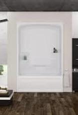 Mirolin Mirolin Liberty 1pc Tub Unit White Left Drain