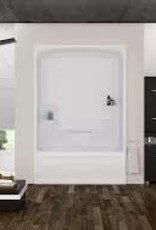 Mirolin Mirolin Liberty 1pc Tub Unit Right Drain