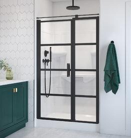 "Longevity Rideau I 1648 48"" 1pc Shower Centre Drain- Right Seat White"