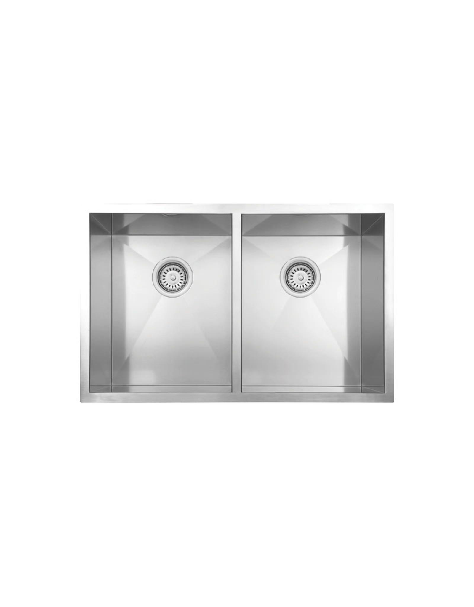 """Vogt Modling 18Z Undermount Kitchen Sink 30"""" x 18"""" x 10"""""""