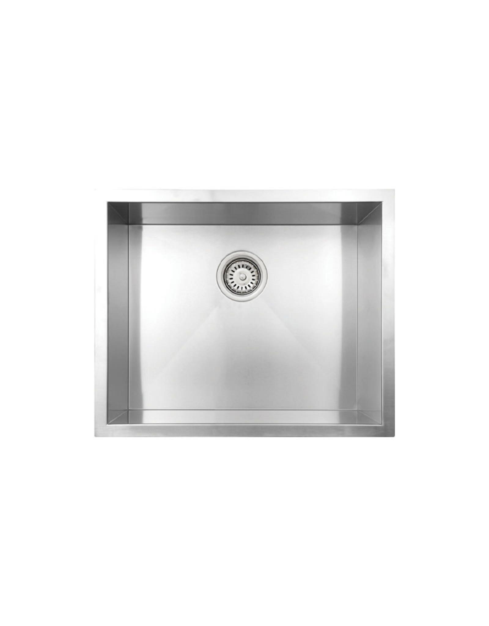 """Vogt Salzburg 18Z Undermount Kitchen Sink 23"""" x 18"""" x 10"""" With Bottom Grids"""