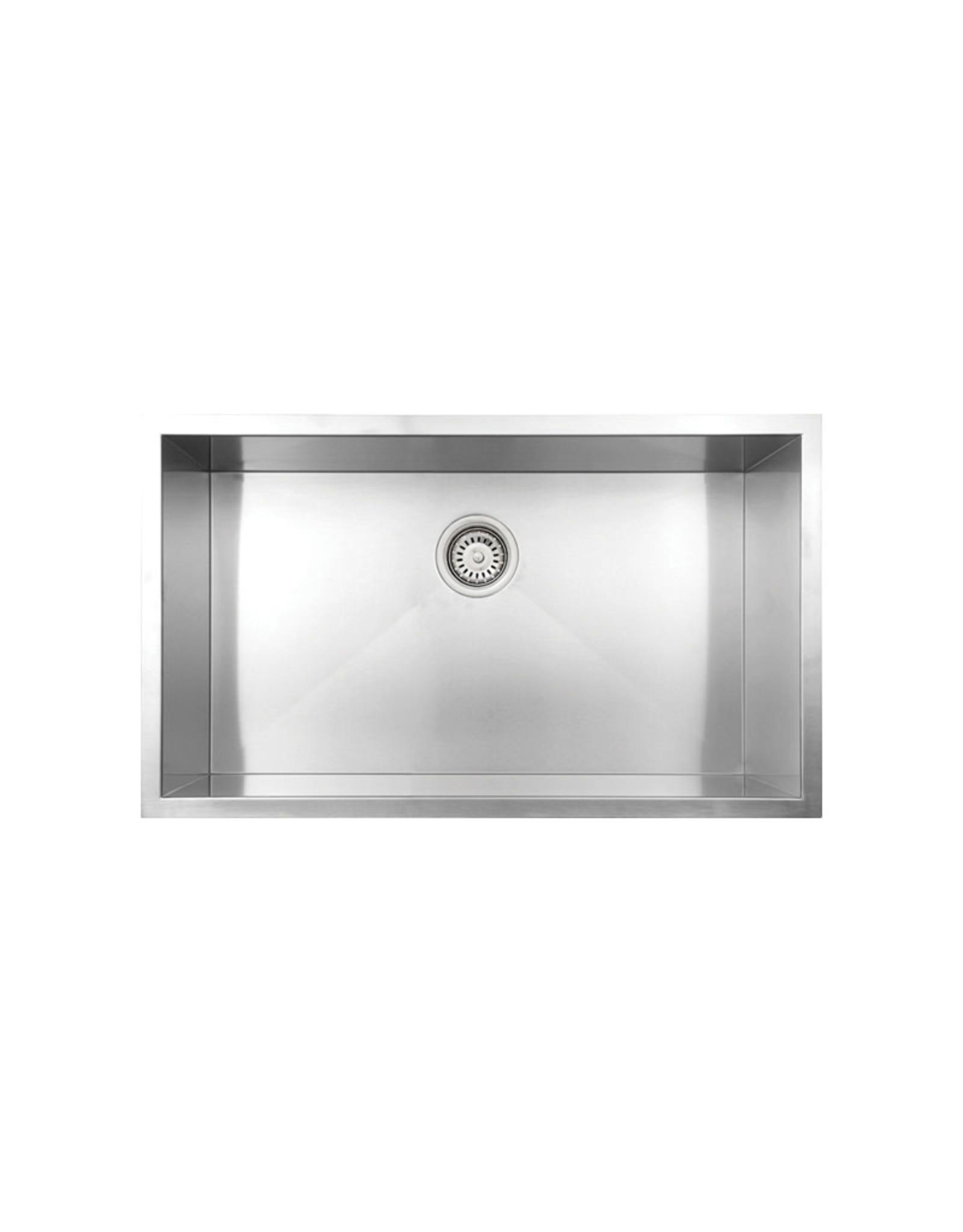 """Vogt Wolfsberg 18Z Undermount Kitchen Sink 32"""" x 18"""" x 10"""""""