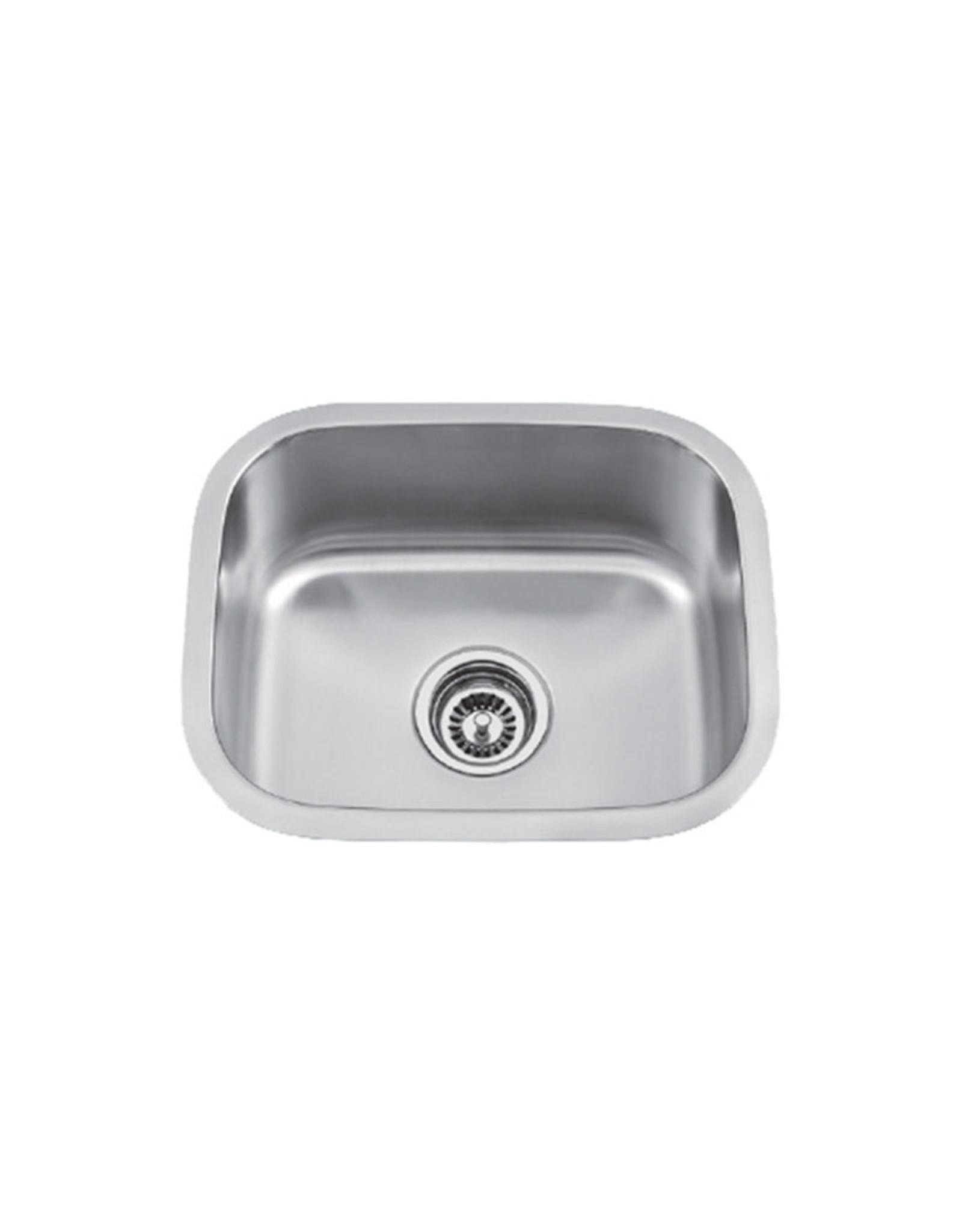 """Vogt Vogt Baden Undermount Bar Sink 18"""" x 15"""" x 7"""""""