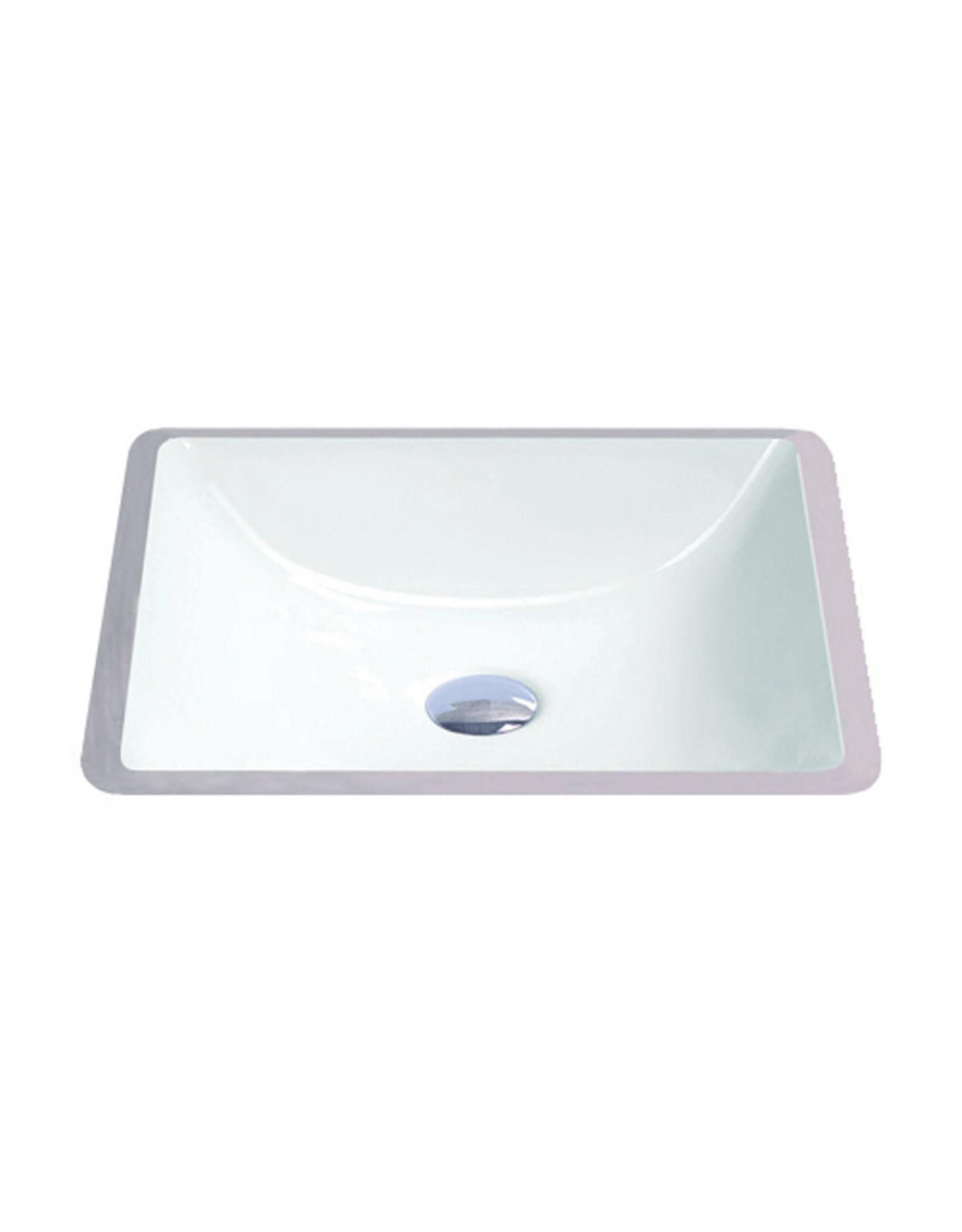 Vogt Vogt Brau Undermount White Lav Sink