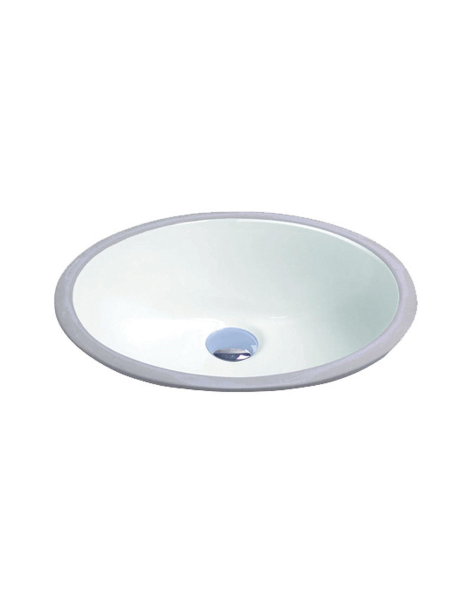Vogt Glan Undermount White Lav Sink