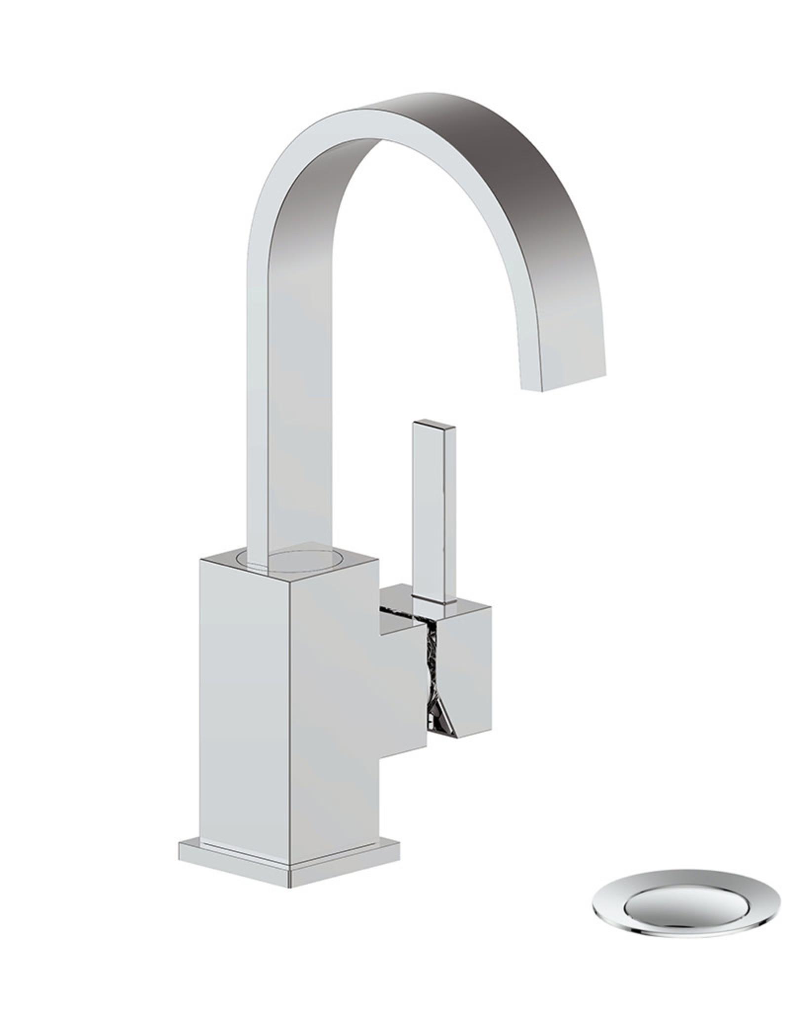 Vogt Kapfenberg II- Single Hole Lav Faucet- Chrome
