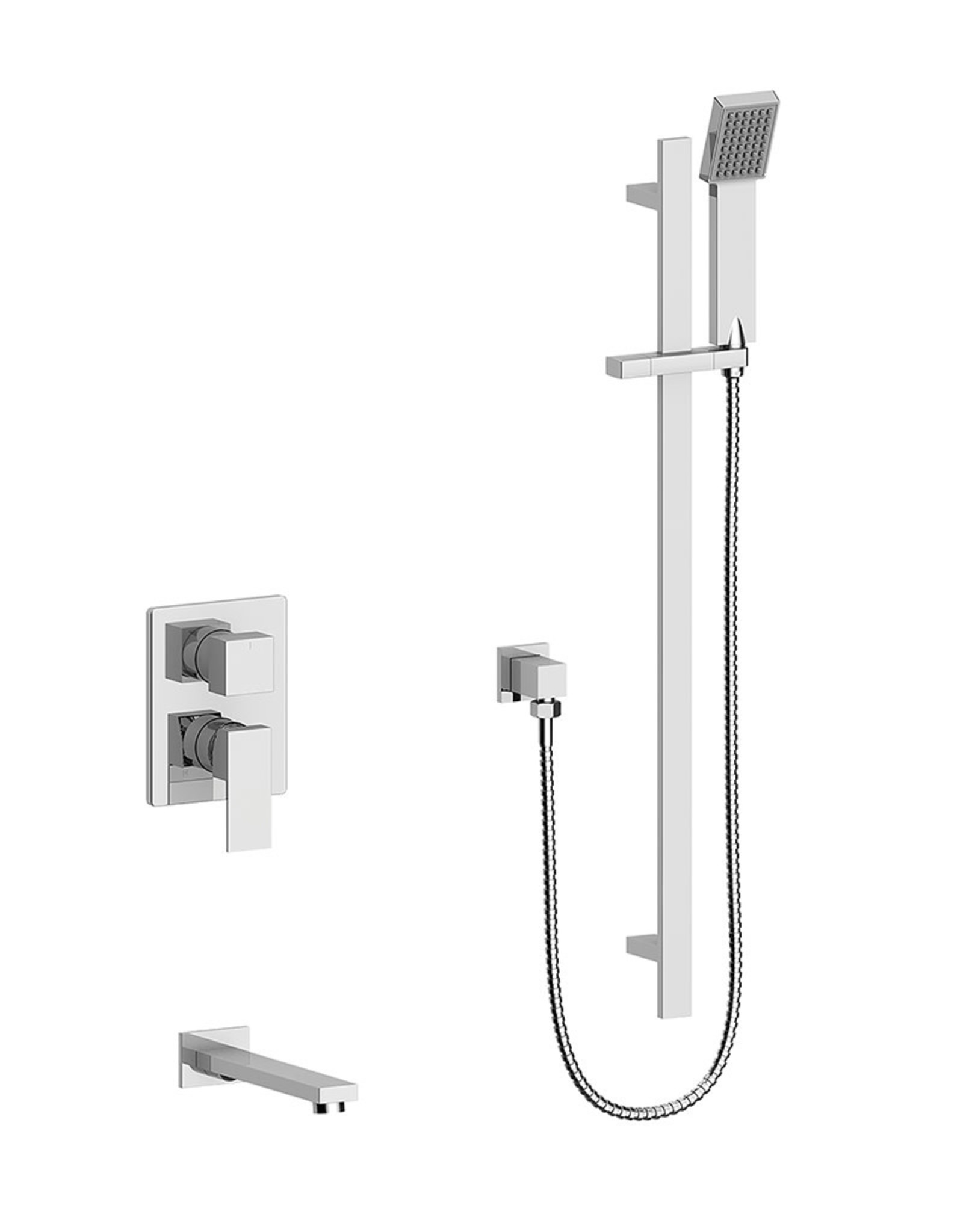 Vogt Kapfenberg- 2-Way Pressure Balanced Shower Kit- Chrome