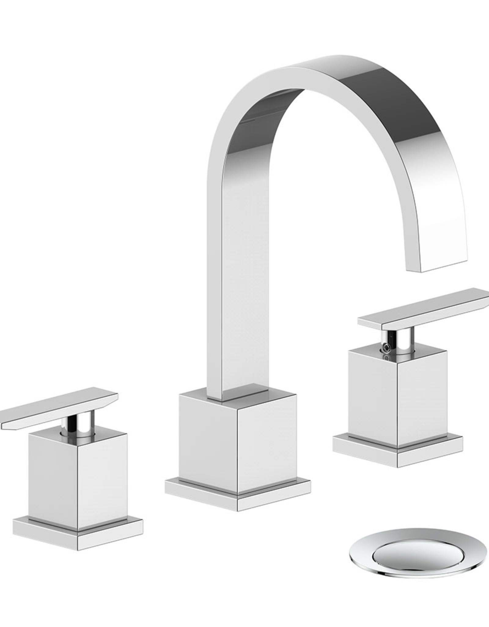 "Vogt Kapfenberg- 8"" Centre Lav Faucet- Chrome"