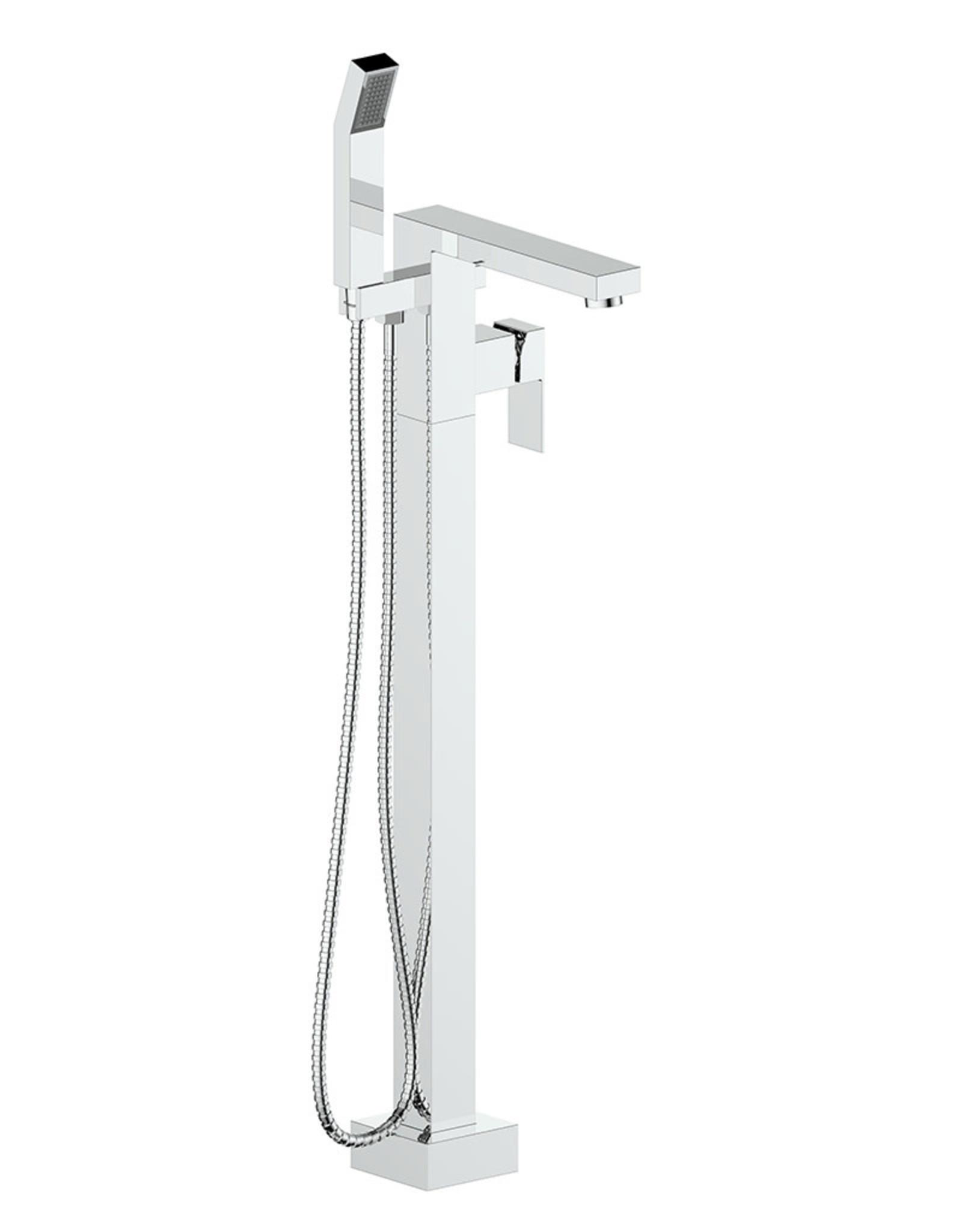 Vogt Kapfenberg- Free-Standing Tub Filler- Chrome