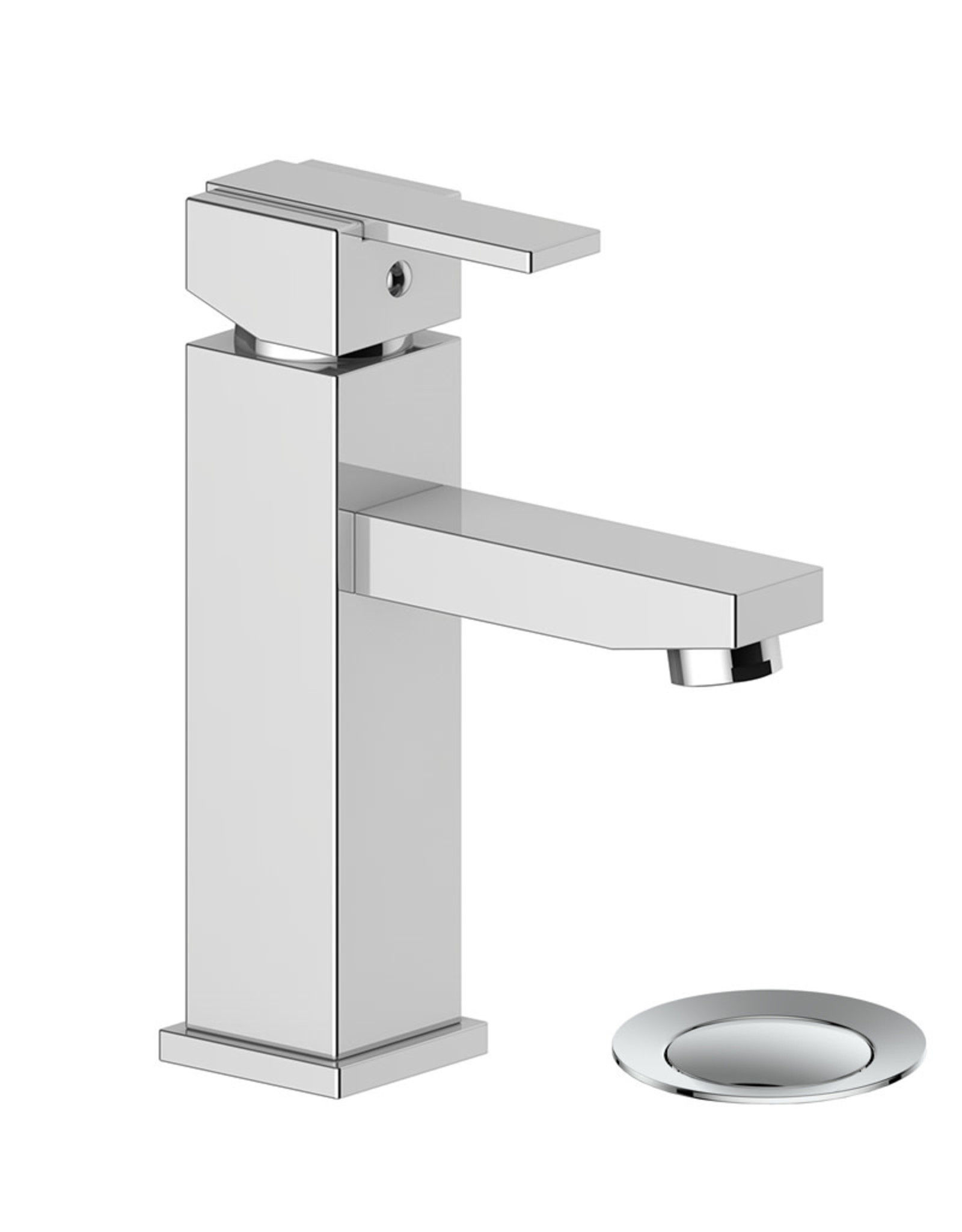 Vogt Kapfenberg- Single Hole Lav Faucet- Chrome