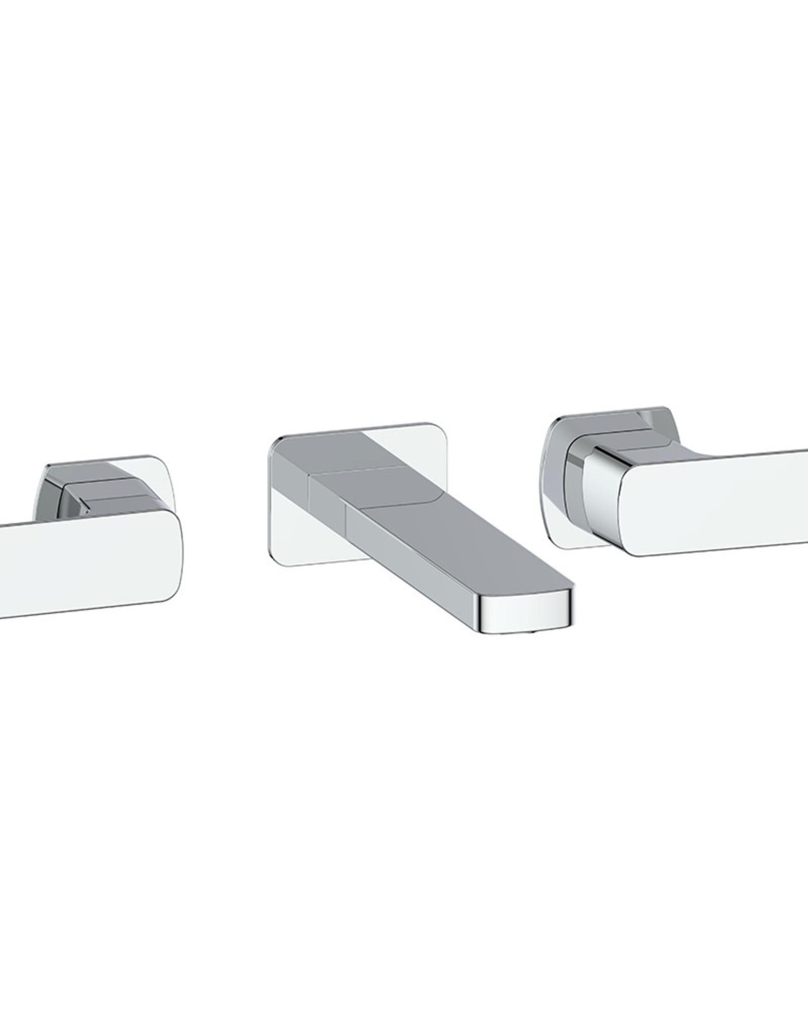 "Vogt Niveau Wall-Mounted 8"" Lav Faucet- Chrome"