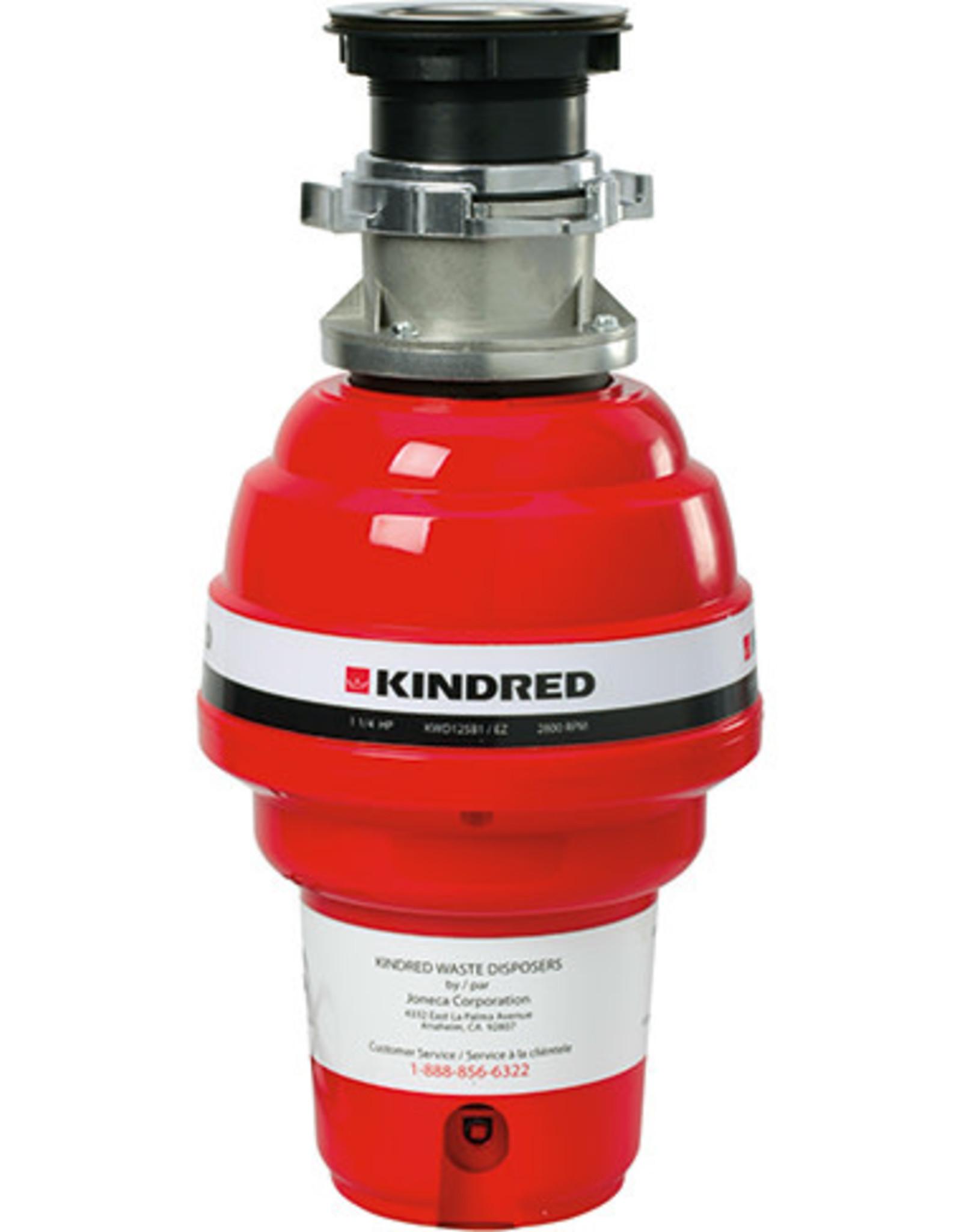 Kindred 1-1/4 HP Batch Feed Garburator