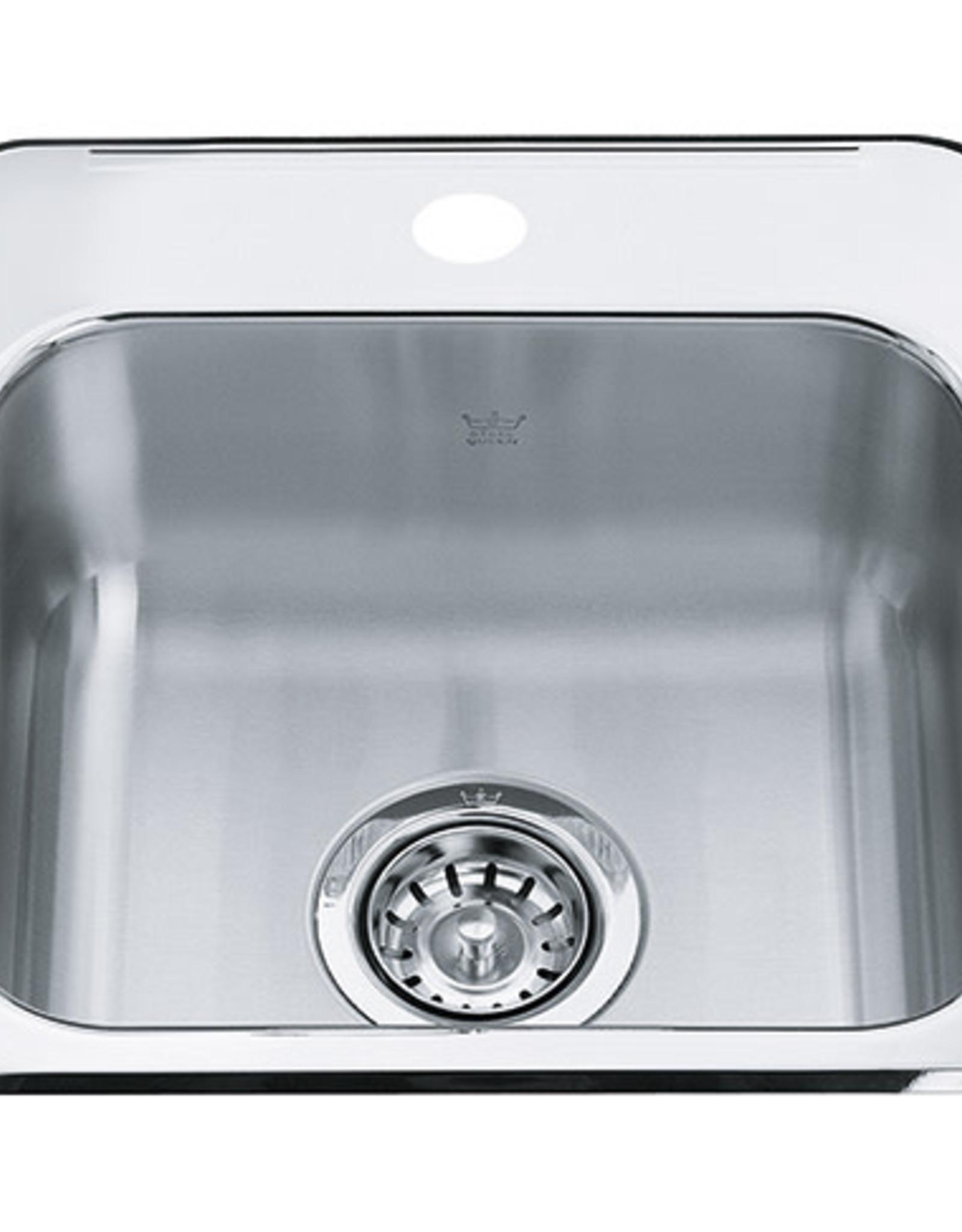 Kindred Reginox RSL1515-6 Single Hole Bar Sink