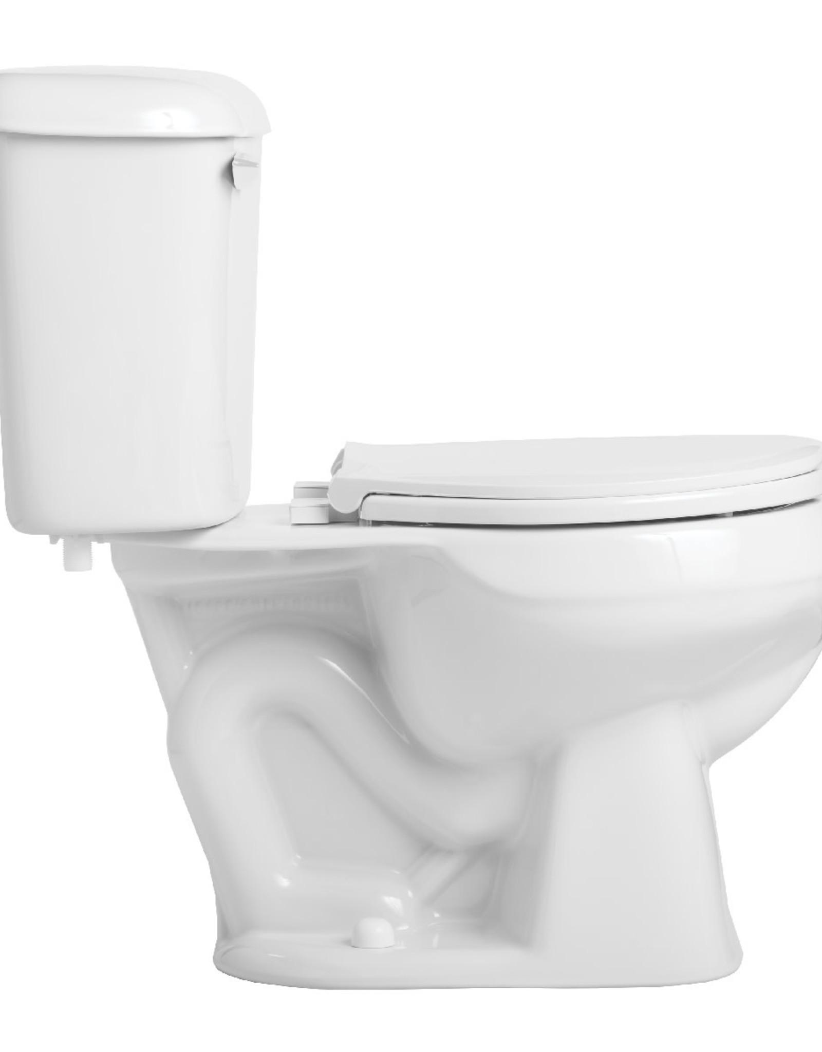 Mansfield Alto Round Front Toilet- White