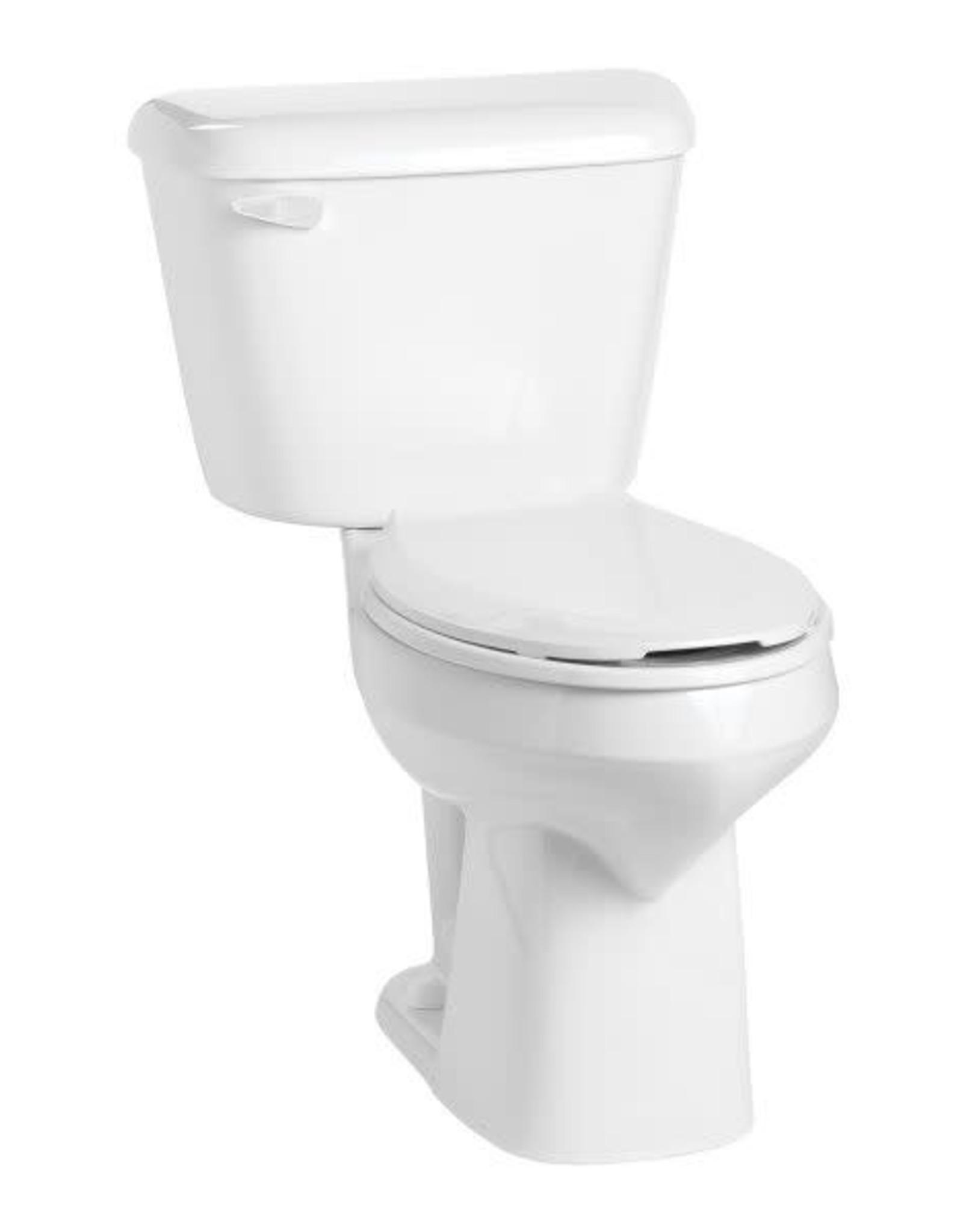 Mansfield Alto RH Elongated Toilet- White Bowl
