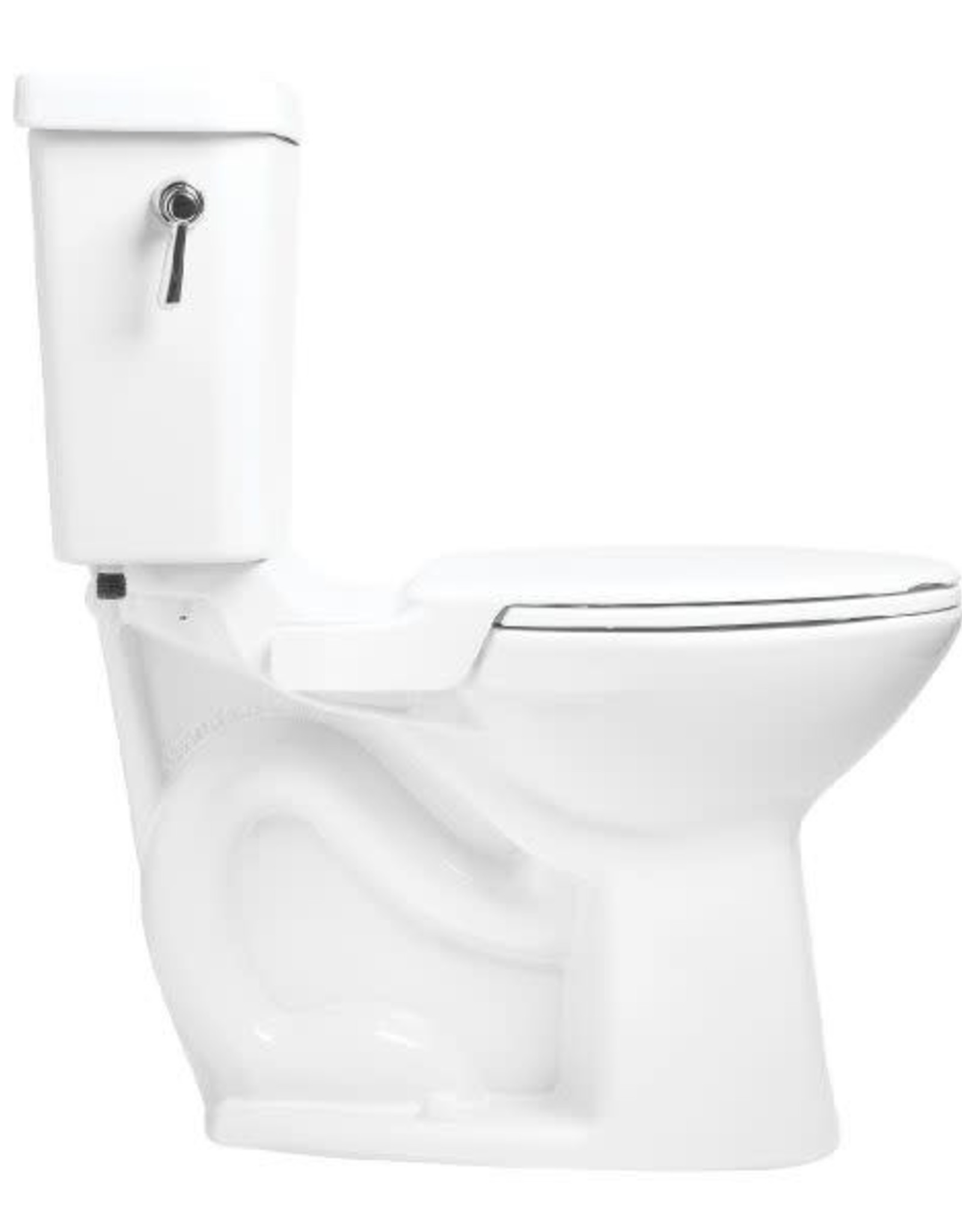 Mansfield Mansfield Vanquish Right Height Elongated Toilet- White