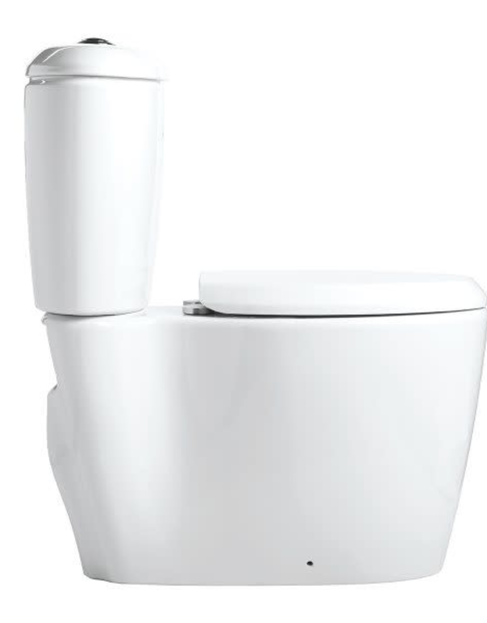 Mansfield Mansfield Enso RH Elongated Dual Flush Toilet w Seat- White