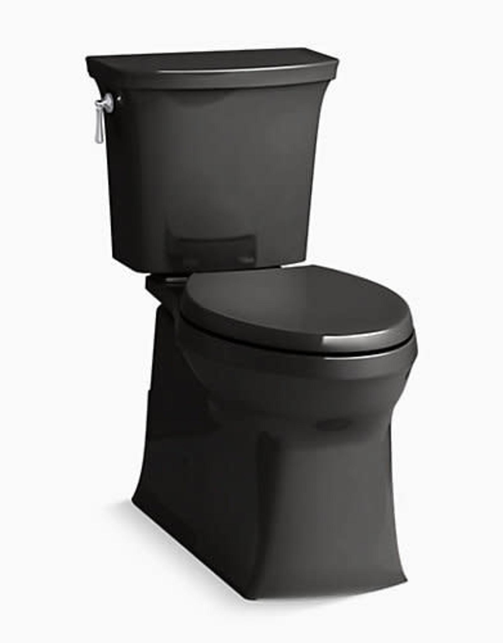 Kohler Kohler Corbelle RH Elongated Toilet- Black