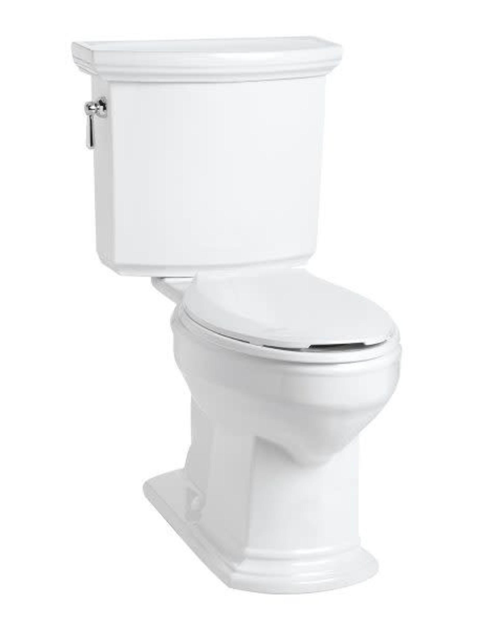 Mansfield Barrett RH Elongated Toilet- White