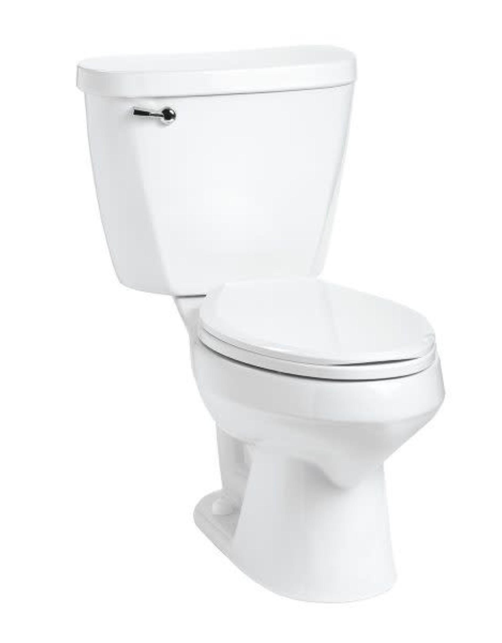 Mansfield Mansfield Summit 1.28 RH Elongated Toilet- White