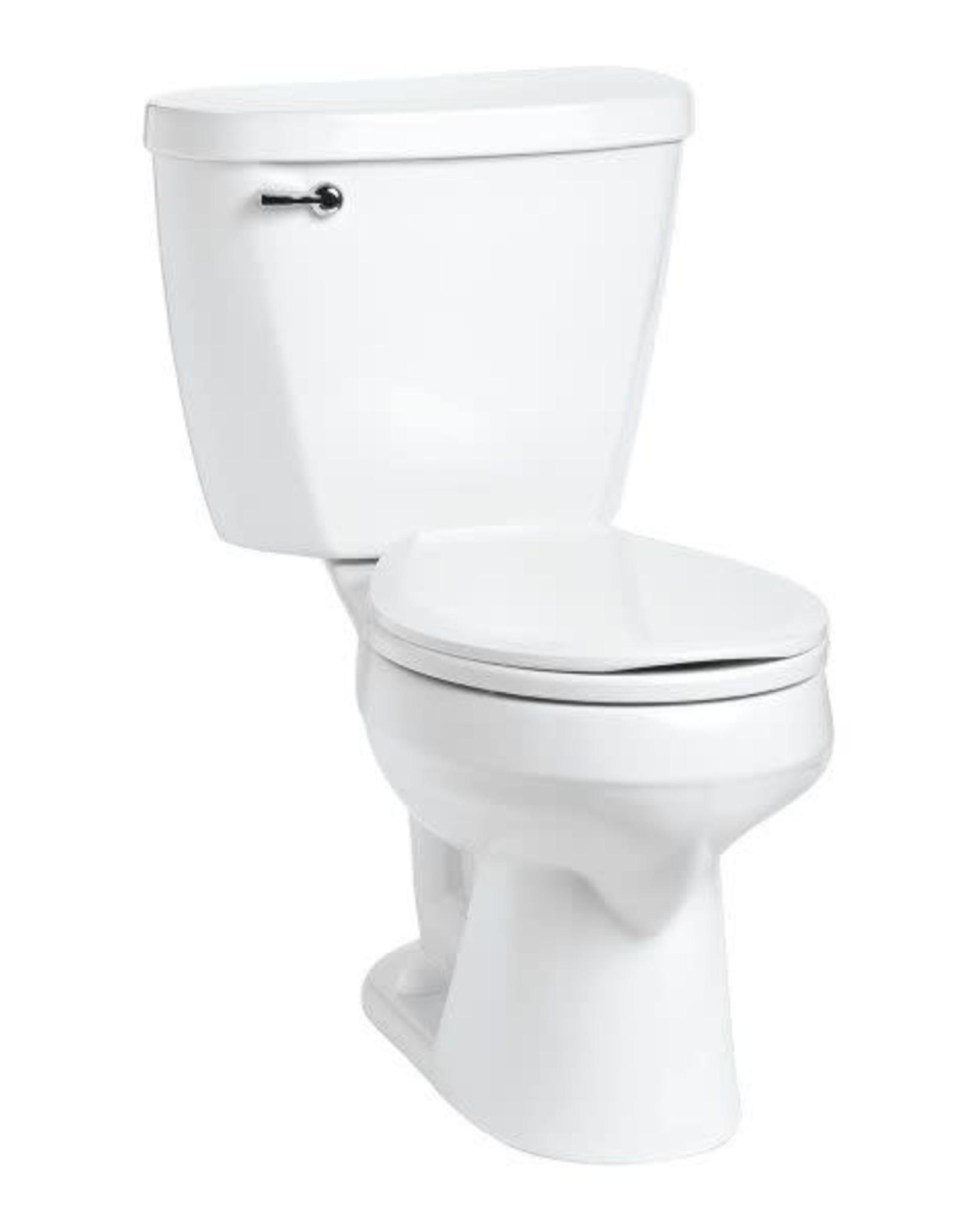 Mansfield Mansfield Summit 1.28 RH Round Toilet- White