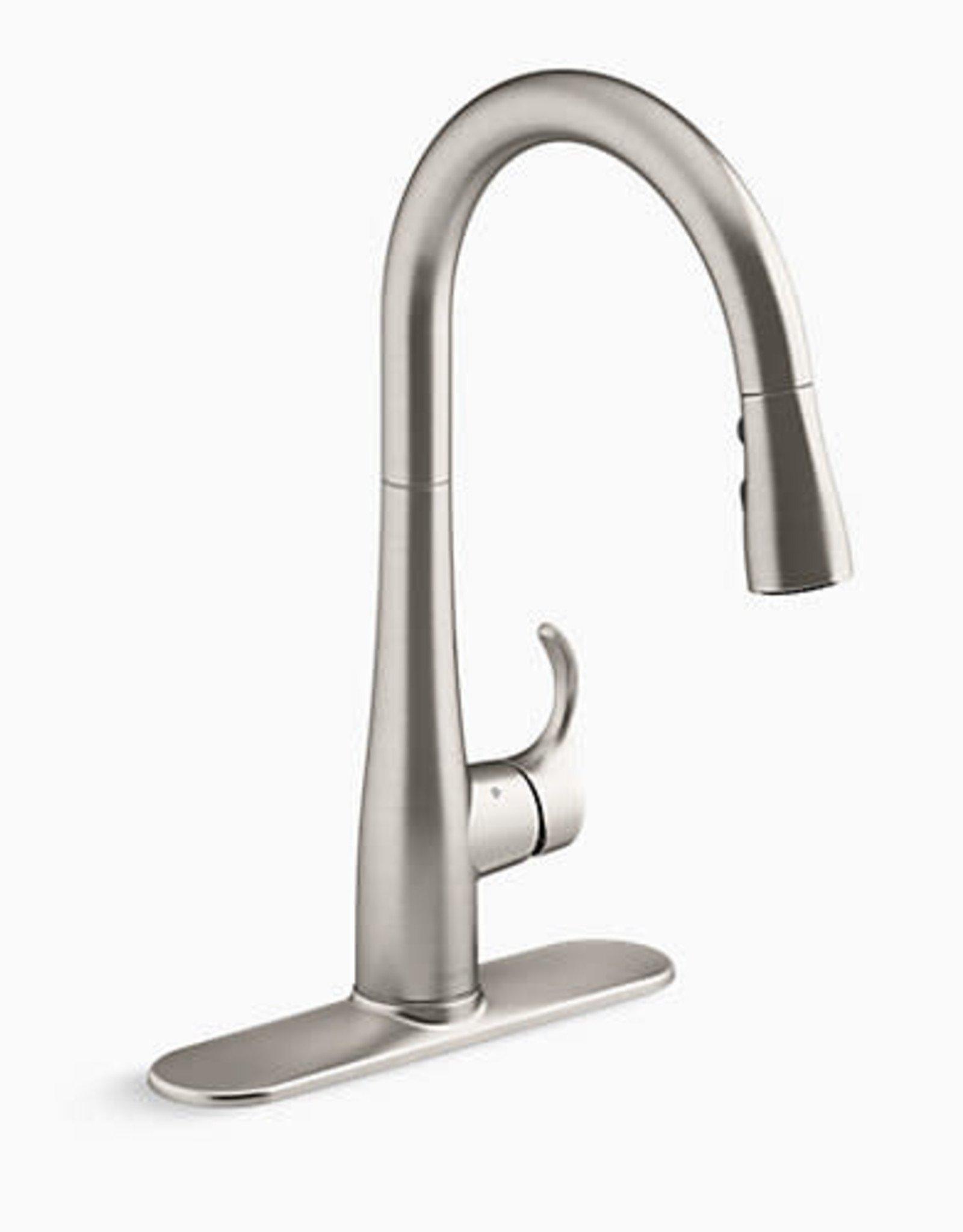 Kohler Kohler Simplice Vibrant Stainless Kitchen Faucet Touchless