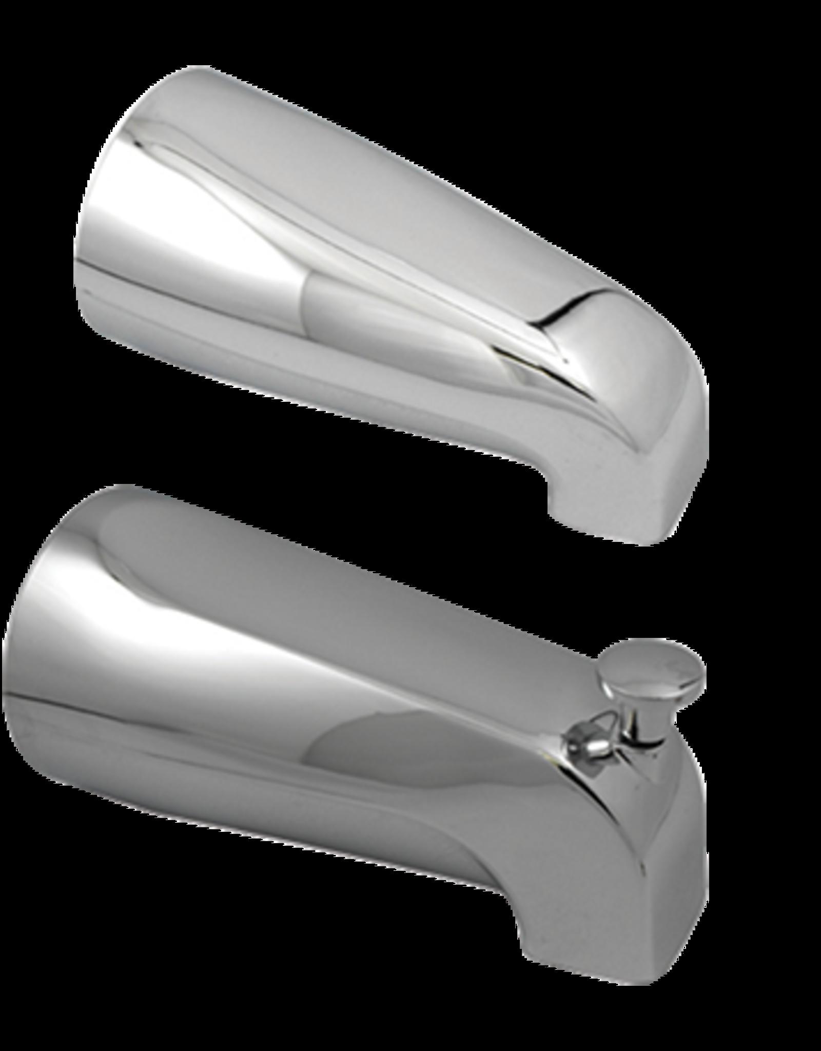 Universal Tub Spout W/ Diverter- Chrome