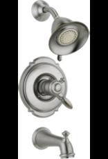 Delta DELTA VICTORIAN - BRILLIANCE STAINLESS MONITOR 17 SERIES TUB & SHOWER TRIM