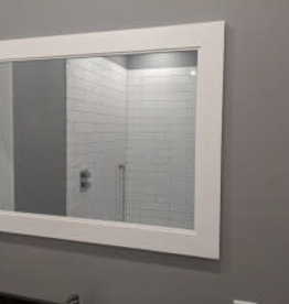 """Classic Brand Cabinetry Classic Brand Cabinetry 28"""" x 36"""" Vanity Mirror"""