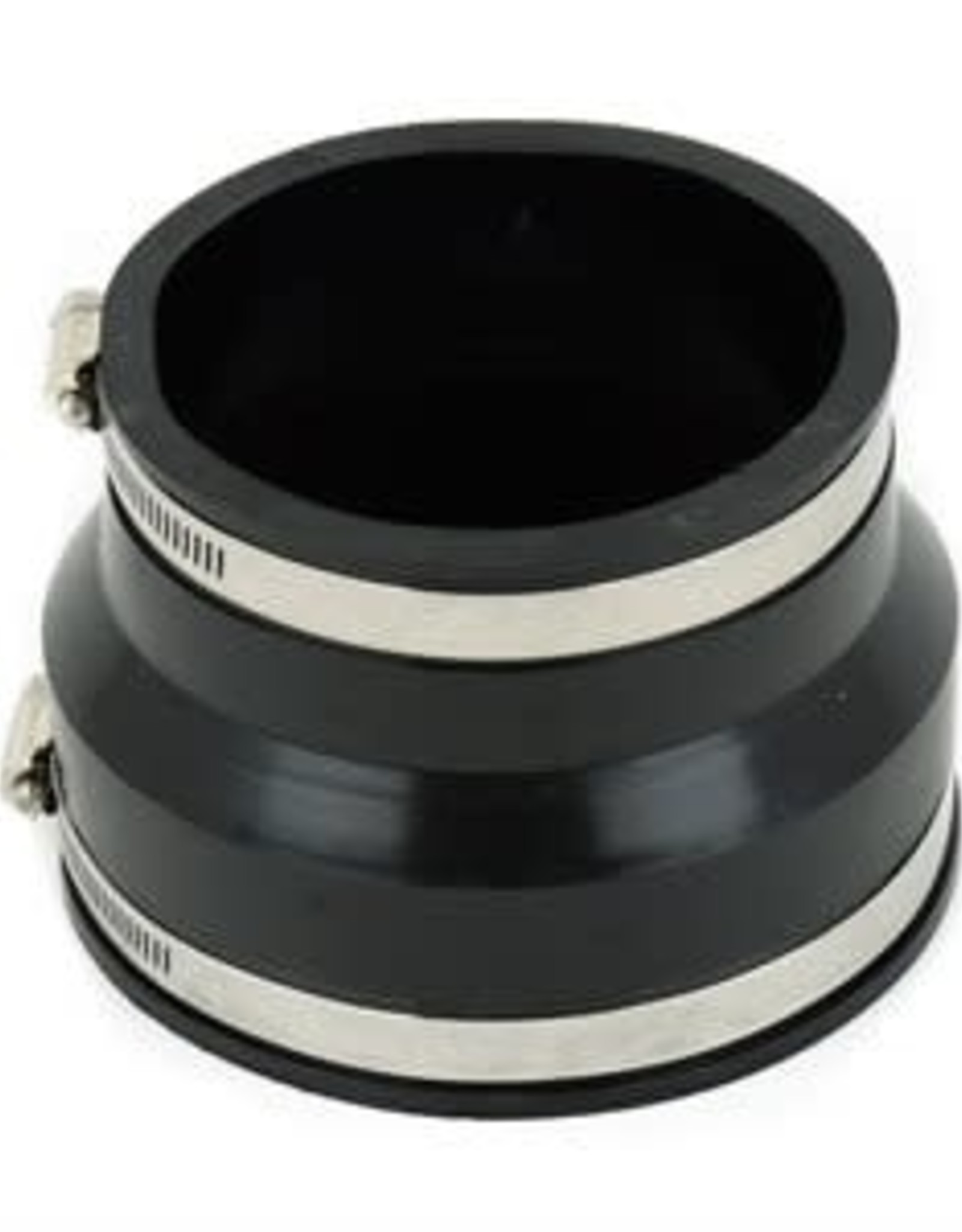 """4"""" Pipe x Socket Rubber Coupling"""