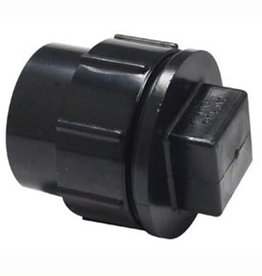 """2"""" ABS FITTING CLEANOUT PLUG WITH CAP"""