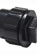 """4"""" ABS FITTING CLEANOUT PLUG WITH CAP"""
