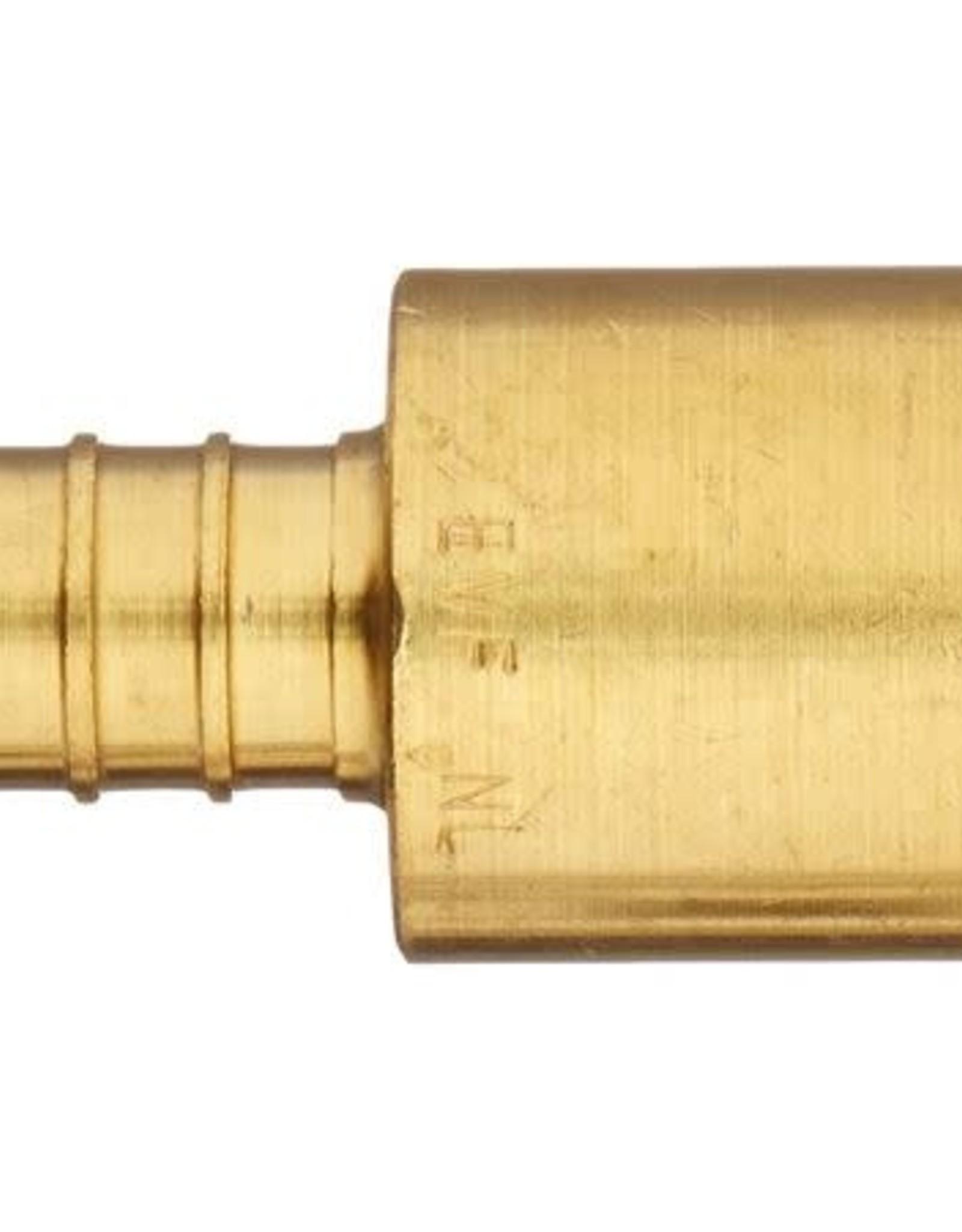 "1/2"" Pex Female Sweat- Brass"
