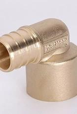 "1/2"" Pex Female Sweat 90- Brass"