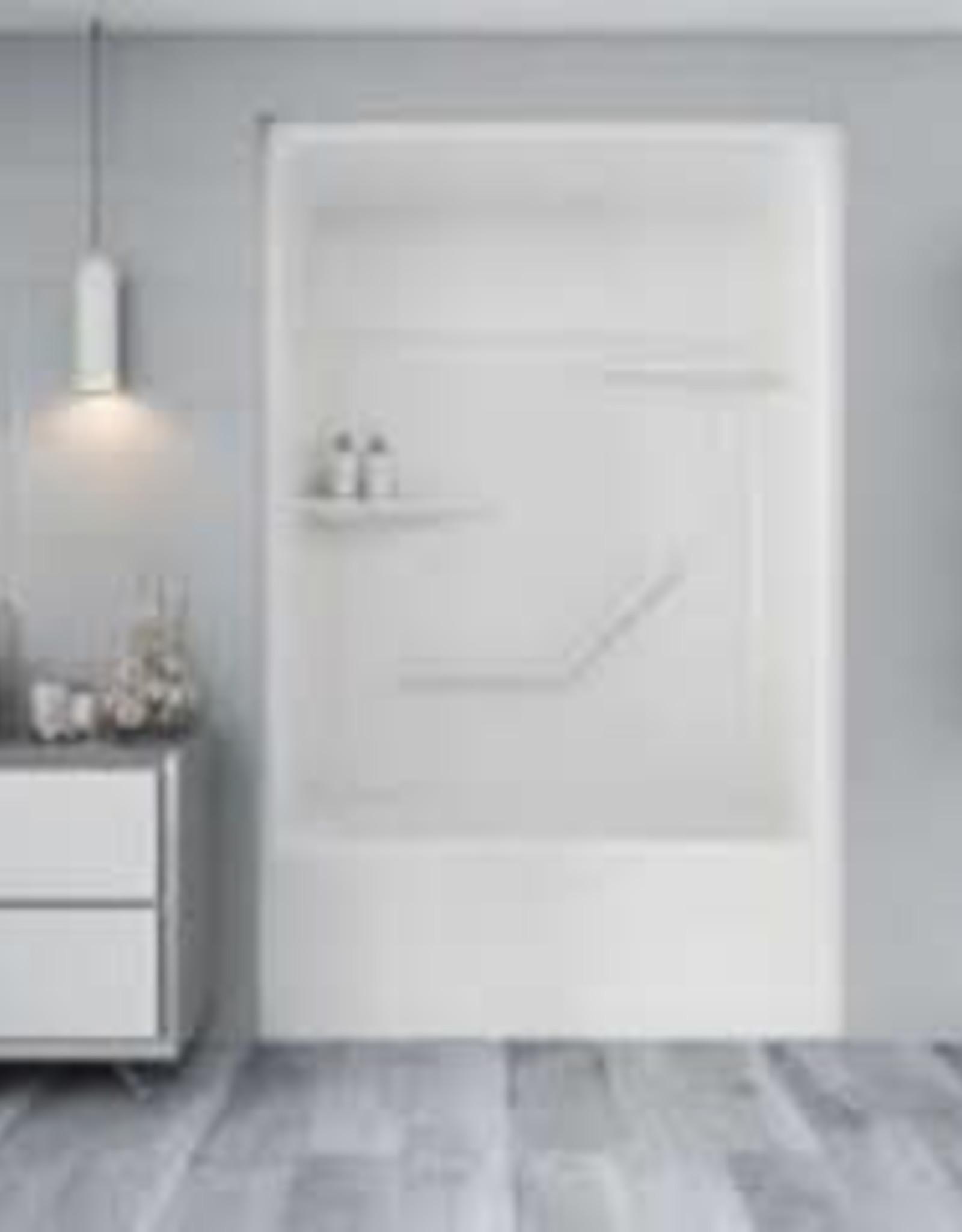 Mirolin Tribeca 3pc Tub/Shower Unit White LH Drain