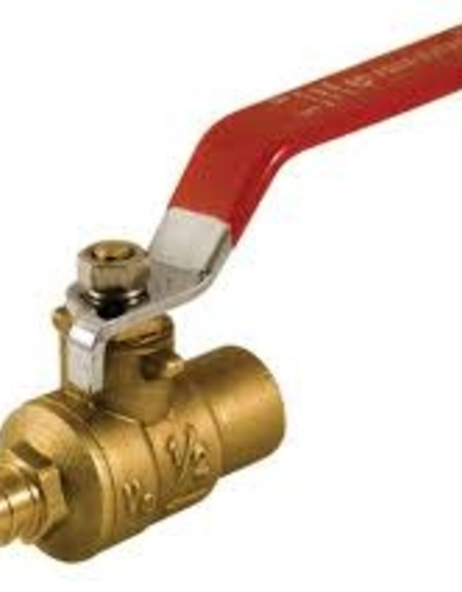 "3/4"" Pex x Copper Brass Ball Valve"