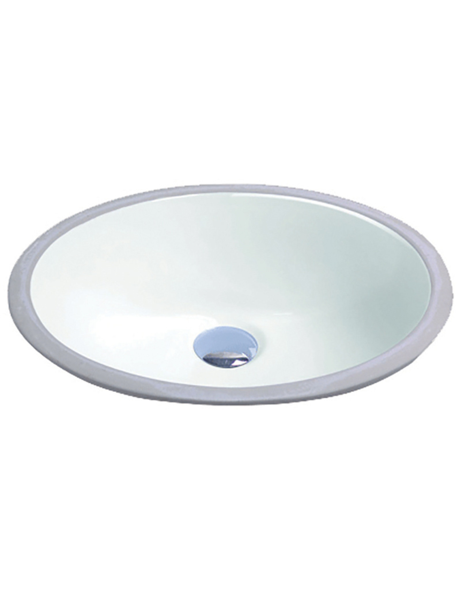 VOGT BRUCK - OVAL VITREOUS CHINA UNDERMOUNT SINK