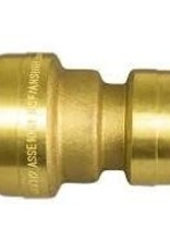 "1"" x 3/4"" Pushfit reducing Coupling"