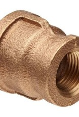 "1/2"" X 1/4"" Brass Coupling"